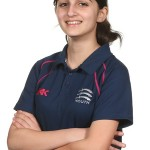 Girls top cricket player at Mill Hill School