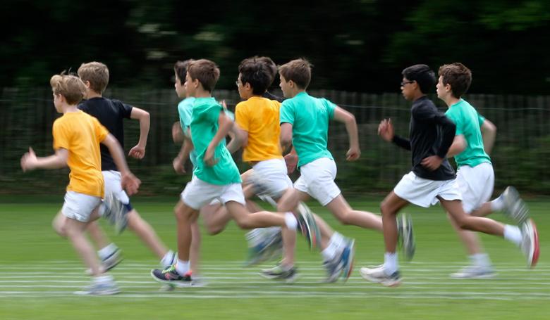 800m race at Kings College School