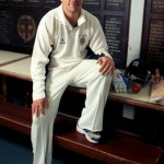 Portrait of Mill Hill and England Youth cricketer Adam Rossington