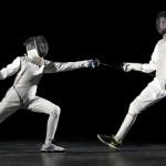 St Benedict's School fencing