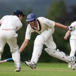 Berkhamsted School 1st XI Cricket action