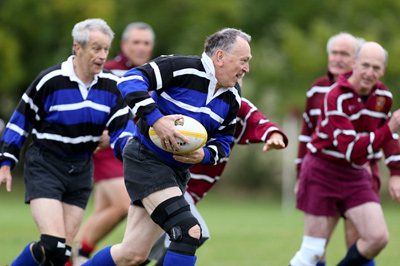 Vets rugby at Amersham and Chiltern RFC