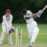 Cricket action photo
